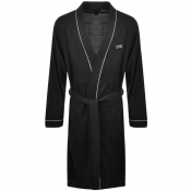 Product Image for BOSS HUGO BOSS Kimono Bath Robe Black